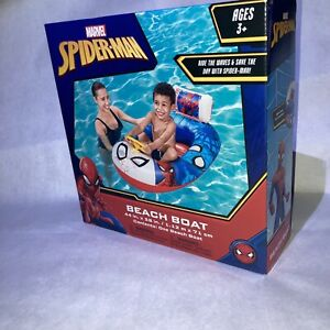 Marvel Spider-Man Beach Boat Pool Float / Ages 3+ / Brand New In Box