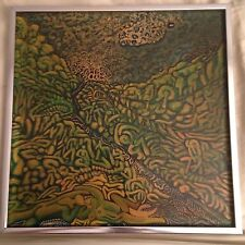 Larry Connatser painting - signed dated 1967 oil on board masonite early work