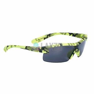 BBB Kids Sunglass Small With UV Protect Matte Yellow Camo Smoke Lens BSG-54
