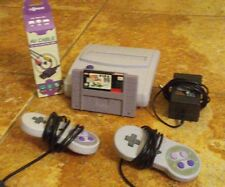 Super Nintendo Entertainment System SNES with 1 Free Game