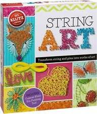 Klutz String Art Book Kit - Children's Crafting Package