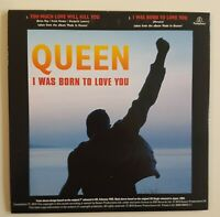 QUEEN (CD): TOO MUCH LOVE WILL KILL YOU / I WAS BORN TO LOVE YOU