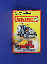 Matchbox Superfast 37 C Skip Truck Red Yellow Lesney England MOC 1980
