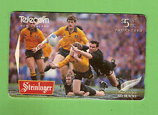 #D42. RUGBY UNION PHONECARD - WALLABIES V ALL BLACKS