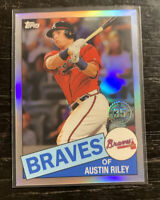Austin Riley 1985 Refractor 2020 Topps Chrome 85TC-23 Atlanta Braves