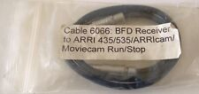 Cable 6066 BFD Receiver to Arri 435/535 Arricam/ Moviecam Camera Run Stop