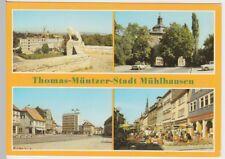 (102033) AK Mühlhausen (Thür.), Mehrbildkarte 1988