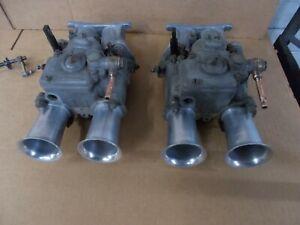 Triumph TR3/ TR4/ Morgan Weber 42 DCOE Carbs and Manifolds