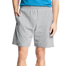 3c0bf5a4 Hanes Mens Jersey Pocket Short 8790/8990 Light Steel M
