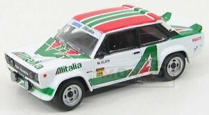 Fiat 131 Abarth Alitalia Rally 1978 White Burago 1:43 BU18-38017