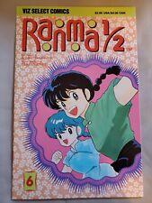 Ranma 1/2 Comic #6 Manga Viz Select