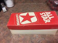 Old Stock, Converse All-Stars, Original Box. Men's size 2 1/2, Heel To Toe 9 1/4