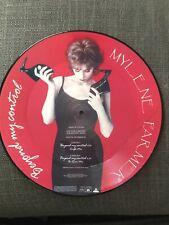 Mylene Farmer Beyond My Control Picture Disc Prix Promo Collector Rare