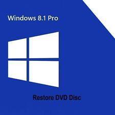 Windows 8.1 Professional Re-install Boot Restore Recovery DVD Disc Disk 32/64bit