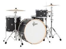 Gretsch Catalina Club 4 Piece Rock Drum Set Flat Black - Blowout Deal!