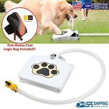 New listing Dog Fountain + Free Case Logic Bag Pet Trouble-Free Drinking Activated Water