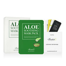 [Benton Cosmetic] Aloe Soothing Mask Pack 23g (x10pcs) +Free Gift 18 New Arrival