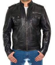 Winter Herrenjacken & -mäntel aus Leder in Größe 50
