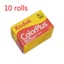 10 Rolls New Kodak Colorplus 200 135mm/35mm Film 36EXP Fresh Date 2020 June