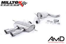 Milltek Seat Leon Cupra R 2.0 TSI Cat Back Exhaust Resonated SSXSE151