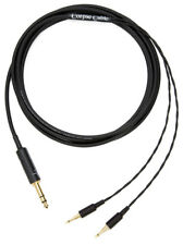 "Corpse Cable for HiFiMAN, Oppo PM1/PM2, HD 700, NightHawk/NightOwl - 1/4"" - 10ft"