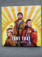Take That - Giants Card Sleeve CD Single 2 Tracks Gary Barlow Mark Owen