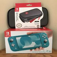 NEW Nintendo Switch Lite Handheld Console BUNDLE! w CASE 🔥TRUSTED SELLER