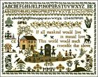 10/% Off The Sampler Company Counted X-stitch chart-The Margaret Simcock Sampler