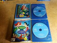 The Little Mermaid / Return to the Sea / Ariel's Beginning (Blu-ray Trilogy)