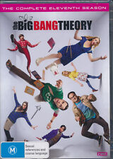 The Big Bang Theory Season 11 Eleven DVD Eleventh NEW Region 4