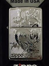Zippo Dragon High Polished Chrome 250-38899
