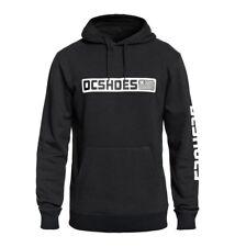 DC Replica Skate Snowboard Pullover Hoodie Sweatshirt Black L NEW NWT Streetwear