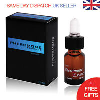 Pheromone Essence 7.5 ml For Men Pure Pheromones VERY STRONG! Attract Women Fast