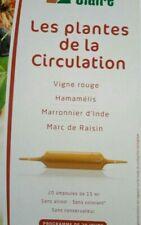 ♡♡ Boîte Les Plantes De La Circulation Vigne Rouge 20 ampoules 15ml BIO -