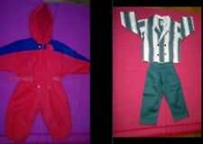 MOTHERCARE THICK PADDED SNOWSUIT(18/24 MTH)(92cmsHeight)+BOYS SUIT(18/24mth)VGC