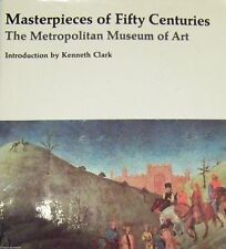 COFFEE TABLE BOOK MASTERPIECES OF FIFTY CENTURIES THE METROPOLITAN MUSEUM OF ART
