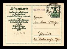 Dr Jim Stamps Feldpost Card Bad Nenndope Germany Continental Size Postal Card