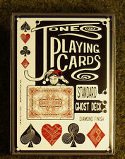 Jones playing cards Red Std Ghost Deck brand new