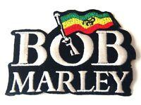 BOB MARLEY Bügelbild Patch Flicken zum Aufbügeln Applikation Aufnäher iron on