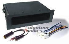 Aftermarket Car Radio Stereo Installation Pocket Dash Kit Combo Harness Antenna