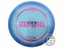 New Discraft Elite Z Meteor 173-174g Blue Magenta Foil Midrange Golf Disc