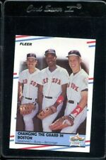 1988 FLEER GLOSSY CHANGING THE GUARD IN BOSTON #630 GREENWELL BURKS RED SOX