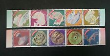 Malaysia Year Of Dragon 2000  Chinese Zodiac Lunar Fish Art (stamp in strip) MNH