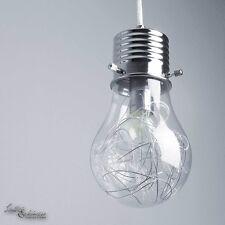 moderne Suspensions en forme d'AMPOULE LAMPES pendantes chromé suspendue