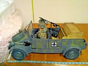 1:6 21ST Century Toys The Ultimate Soldier WW2 German Kubelwagen with 2 SoldierS