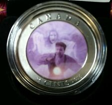 2016 - Haunted Canada #3- Bell Island - 25-cent Lenticular 3D Coloured Coin BOX