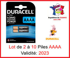 Lot Of 2 To 10 Battery Duracell AAAA - MN2500 - LR61 - 1,5V Ultra - Dlc 2023