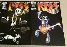 KISS KIDS 3 4; Gene Simmons Paul Stanley 1st print JETPACK variant cover*