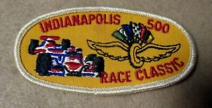 Sew On Patch Indianapolis 500 Race Classic
