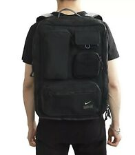 Nike Unisex UTILITY Elite Backpack Bags Sports Black GYM School Bag CK2656-010